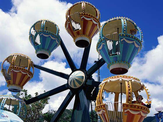 【景点】水上乐园,欢乐世界,香江野生动物园3园中任选两个园区(不含