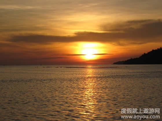 小西洋岛荧光沙滩